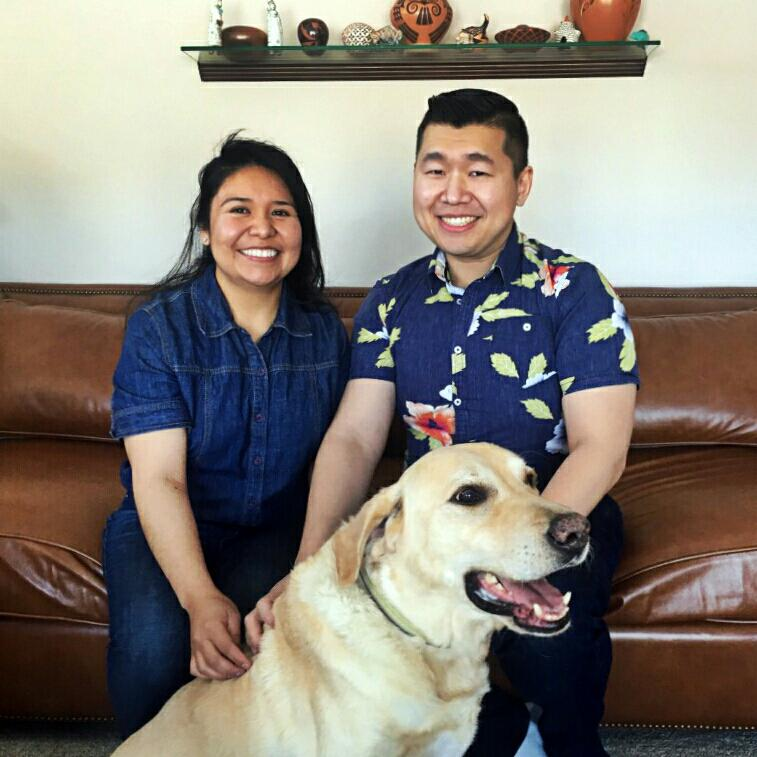 Local Lincoln chiropractor Dr. Louie and his family